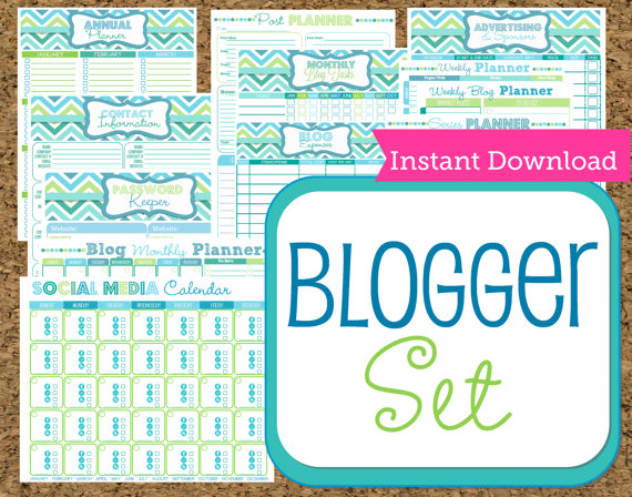 Happy Organized Life blog templates available on Etsy