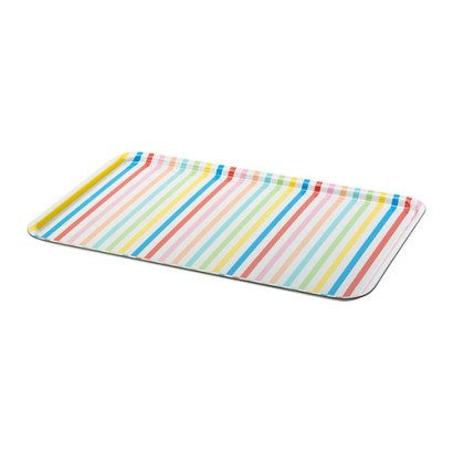 Nothing says summer to me like bright multicolored stripes! At $7.99, this tray from Ikea won't break the bank.