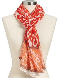 Women's Gauze Animal Print Scarf from Old Navy ($14.94)