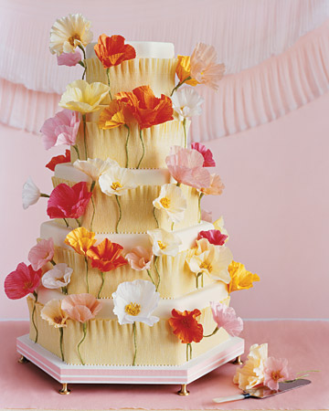 Wow. This bright cake is like edible art. Breathtaking.