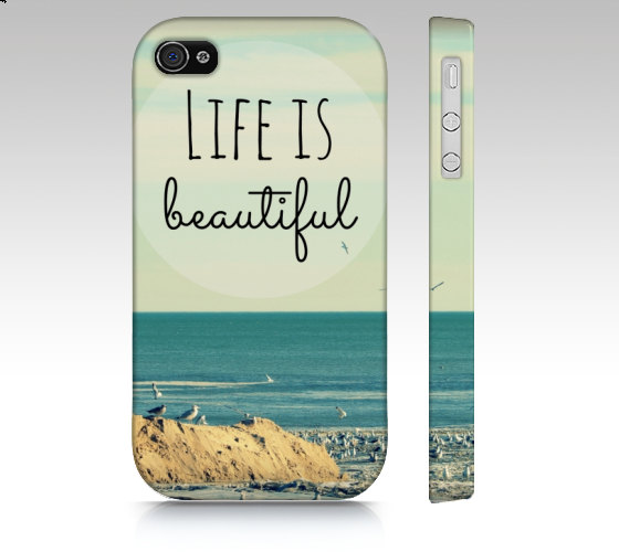 life-is-beautiful-phone-cover-etsy