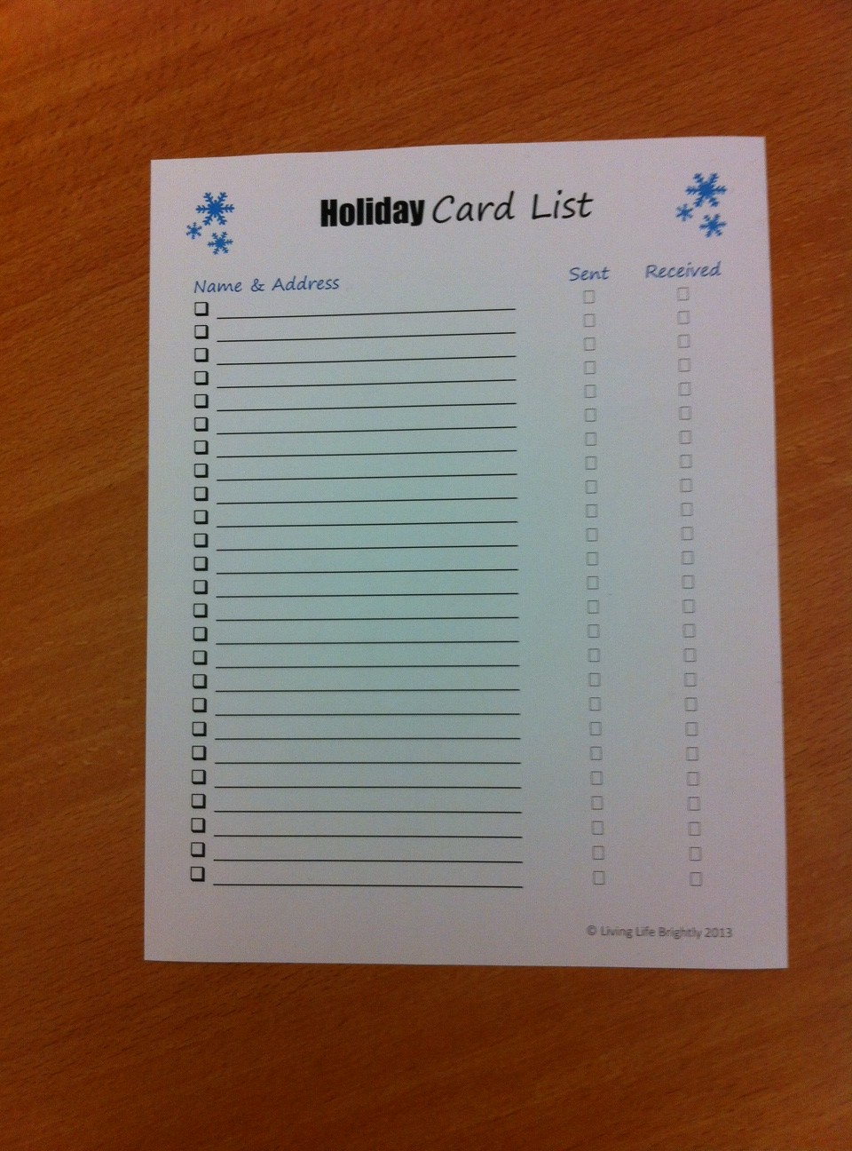 holiday-card-list