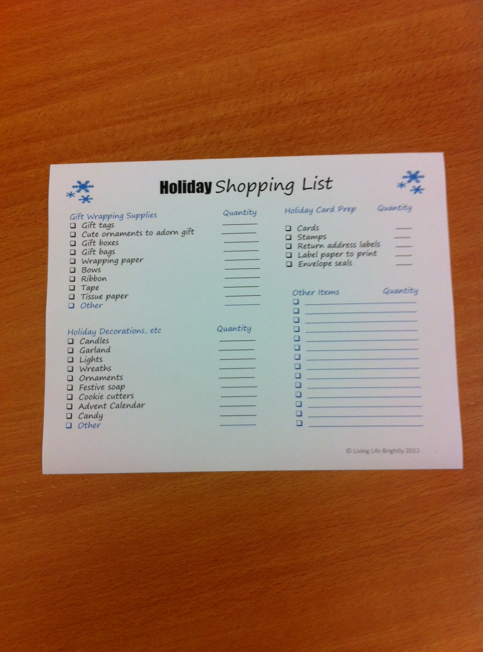 holiday-shopping-list