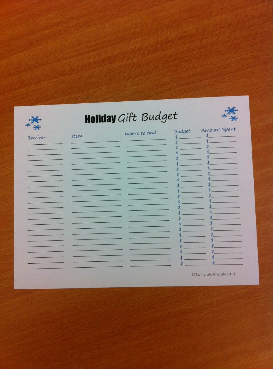 holiday-gift-budget