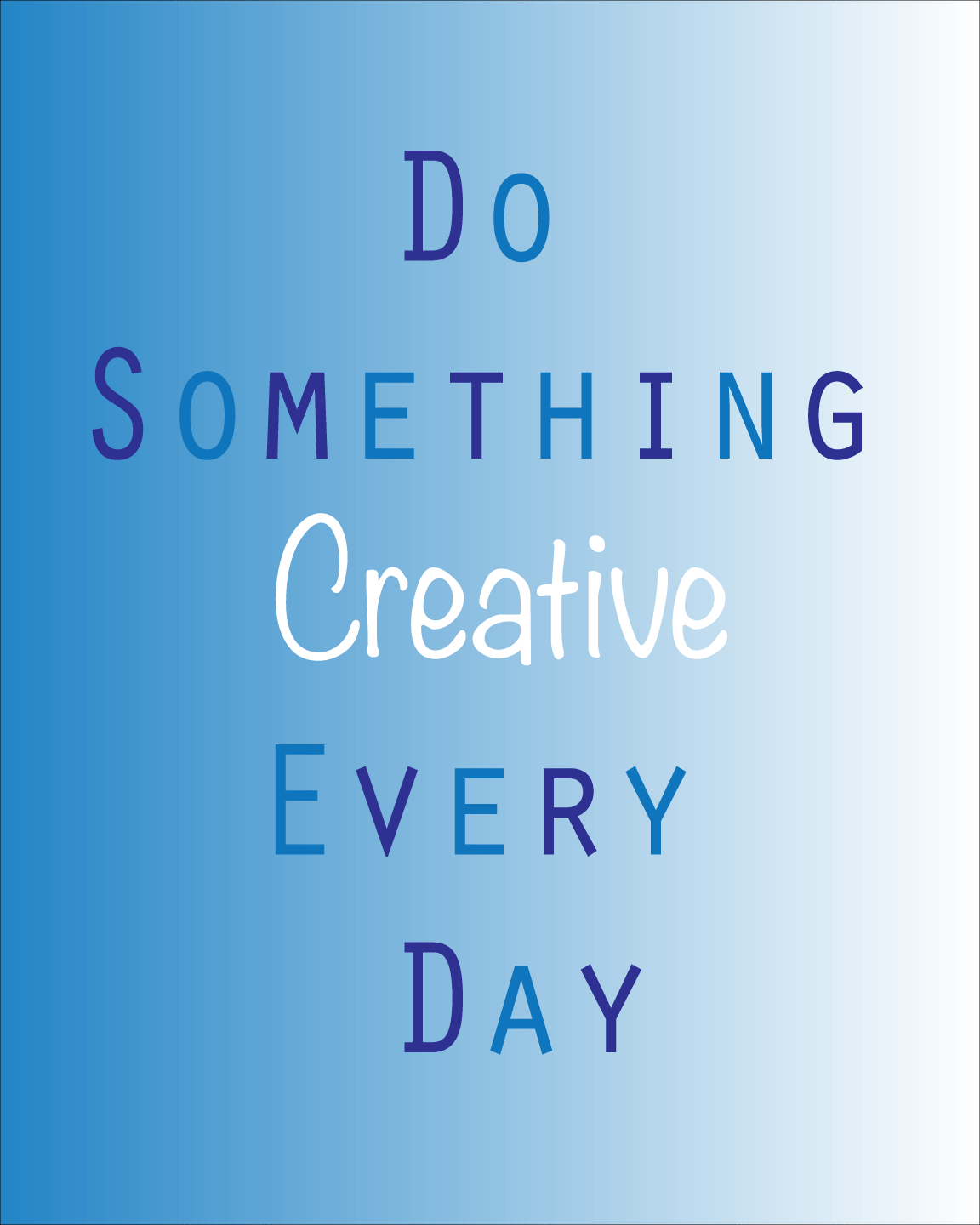 Do-something-creative-every-day